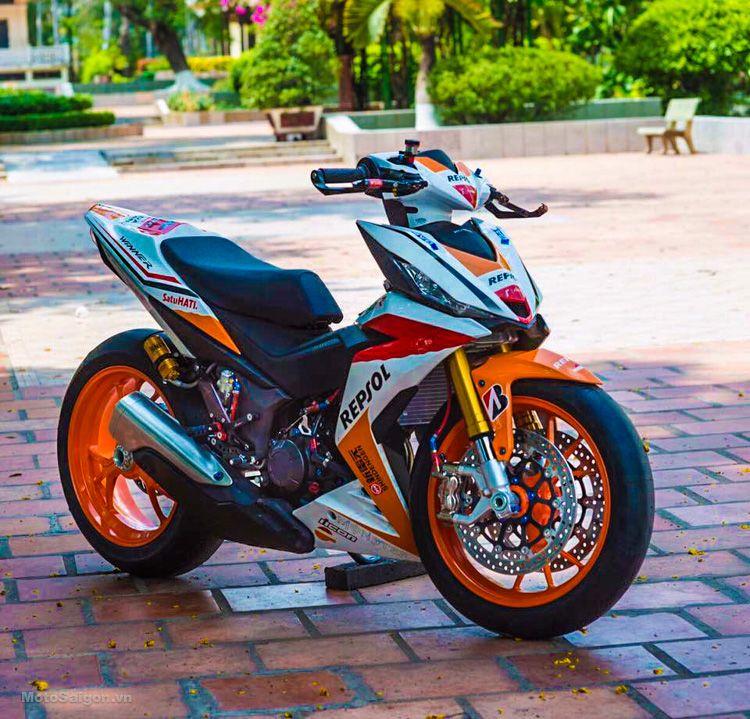 Honda Winer 150 Repsol 1 Sepeda Mobil Harley Davidson