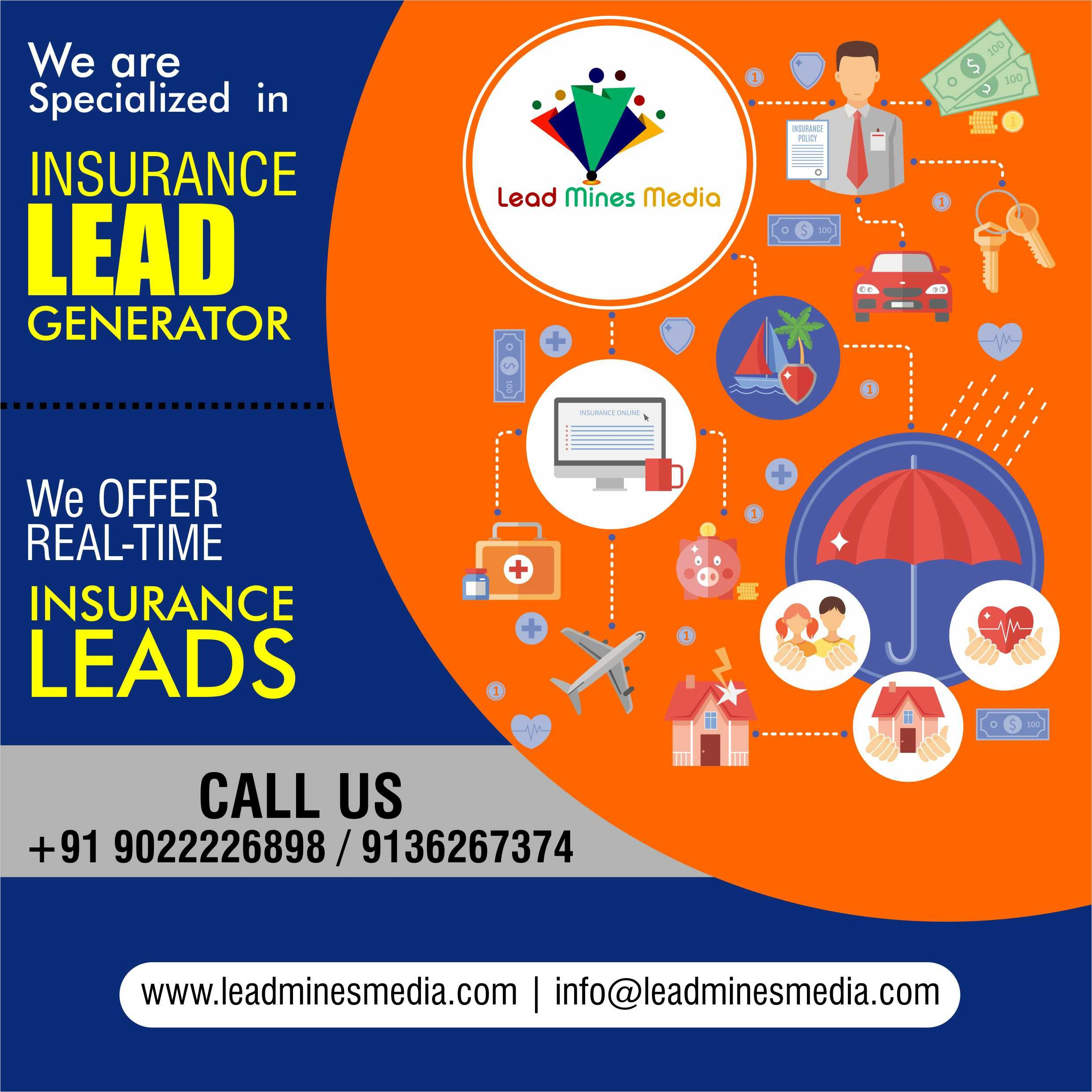 We Are Specialized In Insurance Lead Generator Lead Generation