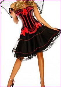 details about burlesque costume corset dress halloween