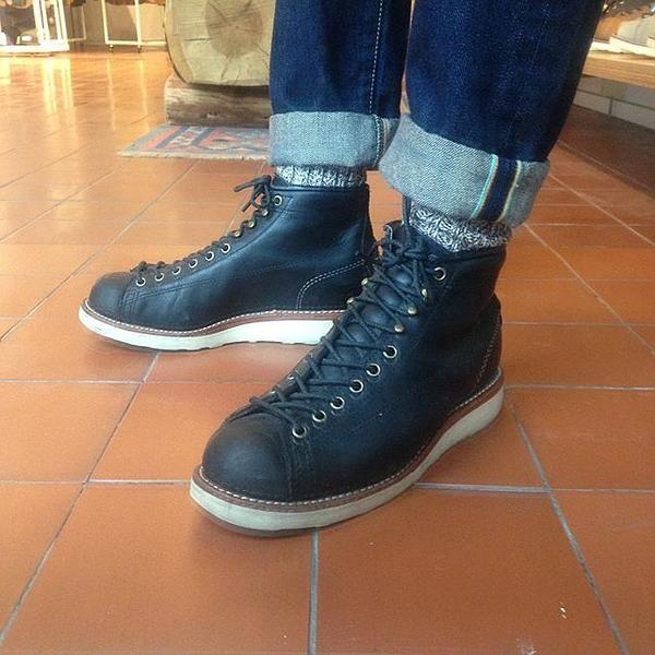 Chippewa Boots 1901m34 5 Black Odessa Lace To Toe Bridgeman Boots Chippewa Boots Mens Fashion Rugged