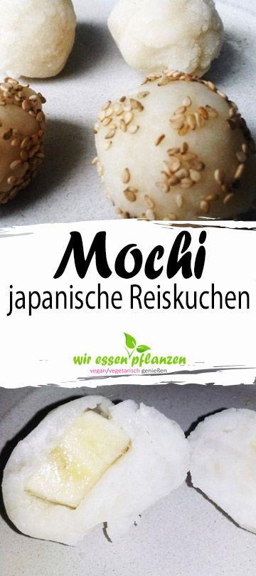 Mochi もち (Reiskuchen)