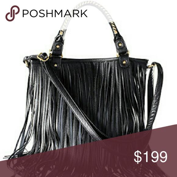 🆕  H M   rare  fringe bag 🎉HP Boutique   My Posh Picks   Fringe ... dcc688f30b