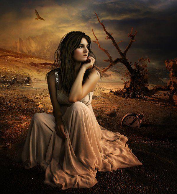 Gambar Wallpaper Menyendiri Fantasy Art Fantasy Art