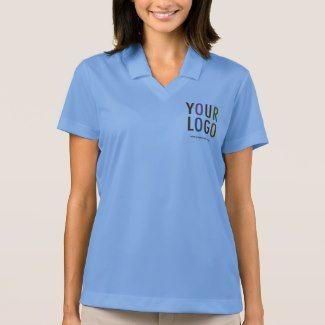 Nike Dri Fit Women Polo Shirt Custom Company Logo Polo Shirts