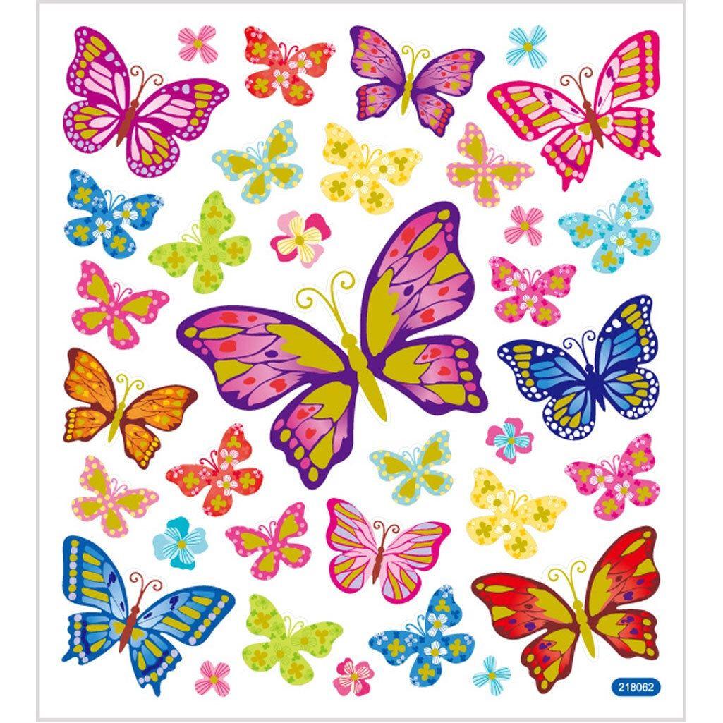 Fancy Stickers Butterflies