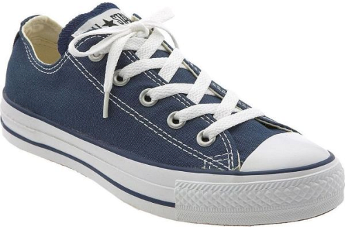 Converse Chuck Taylor Low Top Sneaker In Blue Iconic Canvas Sneaker