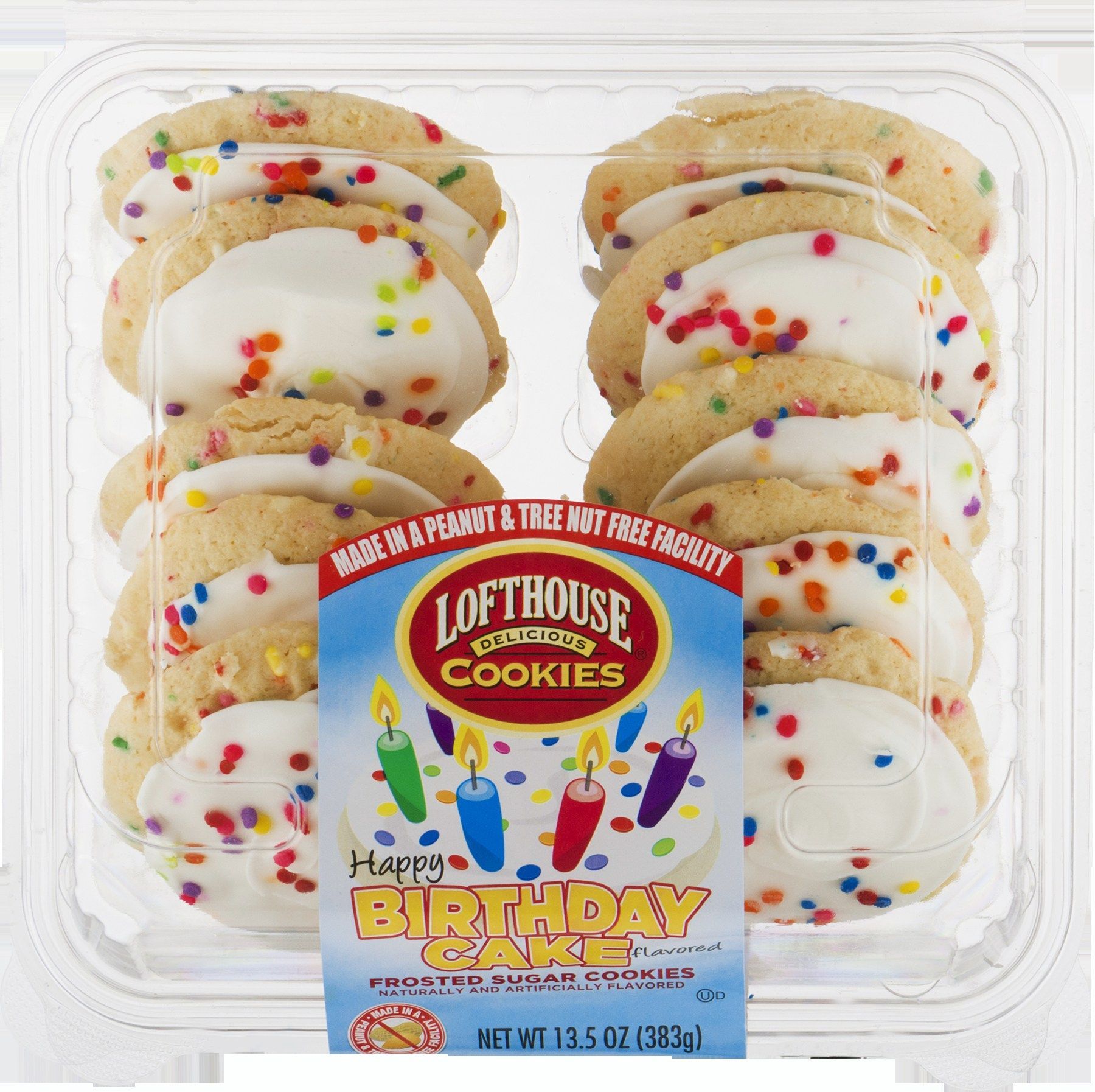 32 Creative Picture Of Birthday Cake Cookies Lofthouse Frosted Walmart BestBirthdayCakes