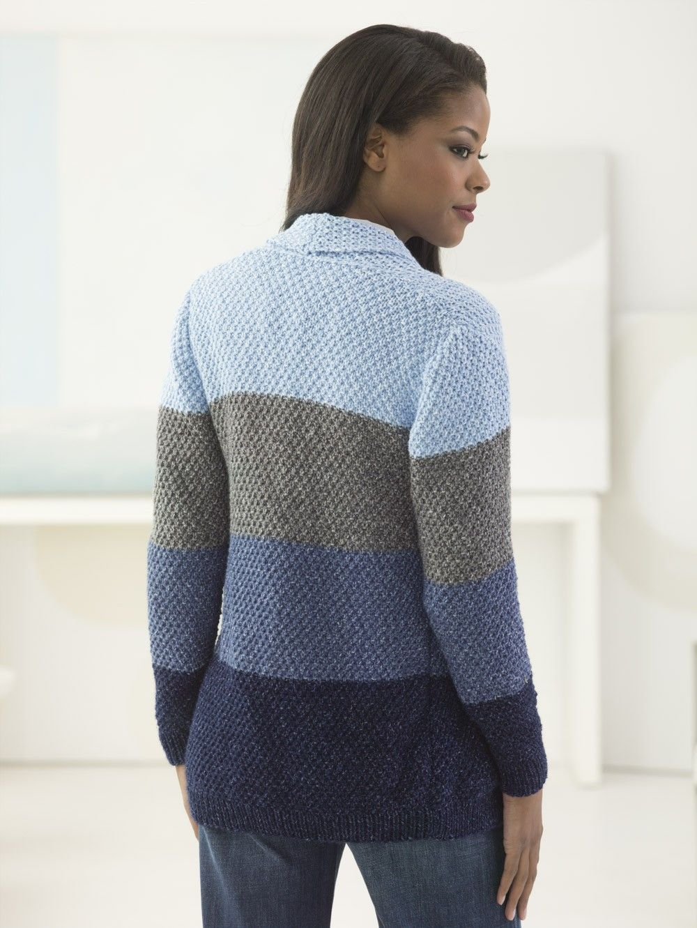 High Plains Cardigan Free Knitting Pattern | Pinterest