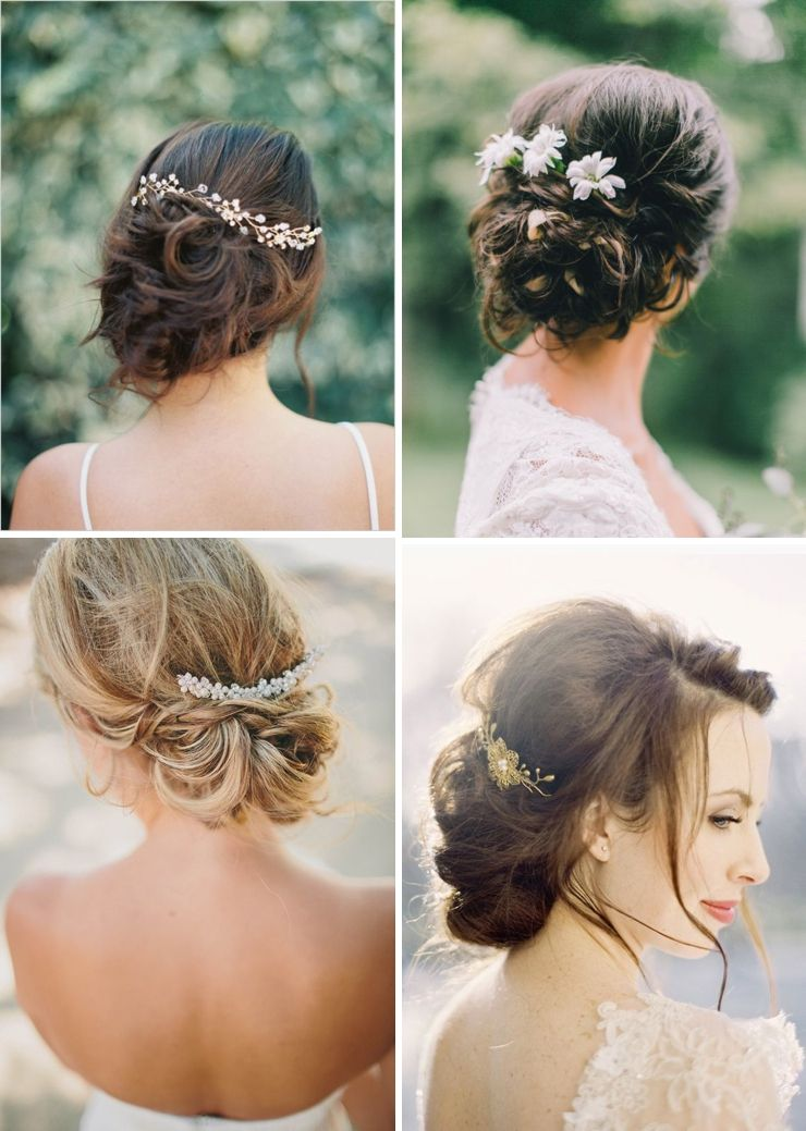 Inspirations chignon flou Look Mariage Queen For A Day