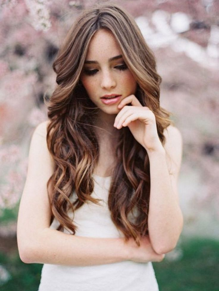 1000 Ideas About Wedding Hair Down On Pinterest Wedding Hairs Curls For Long Hair Long Hair Styles Hair Styles