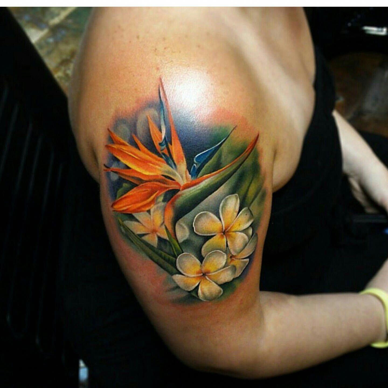 hawaiian tattoos applied hawaiiantattoosflower Hawaiian