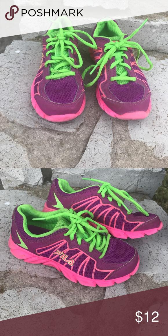 Fila DLS Foam Running shoes Girls pink aa022cbbd
