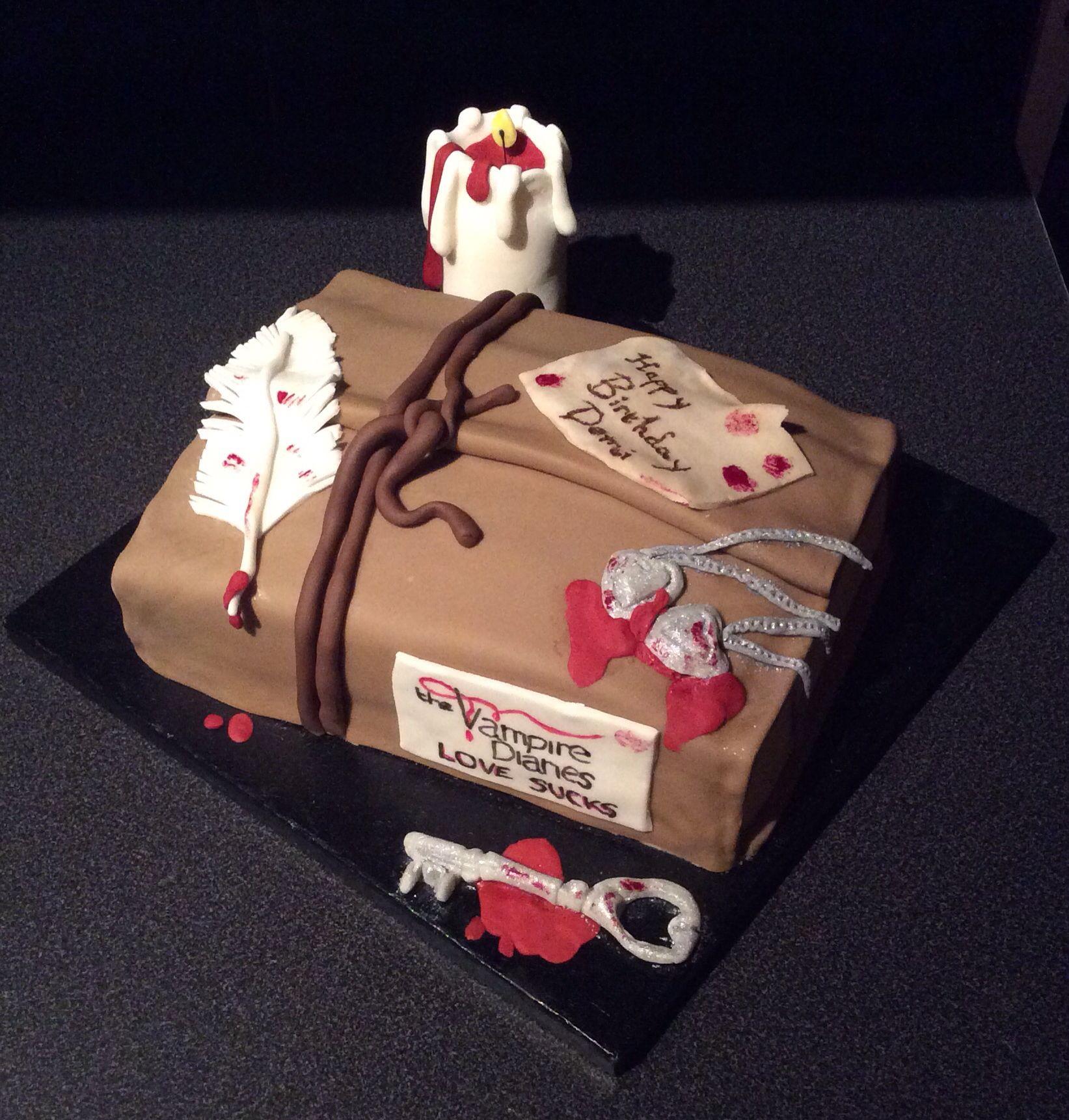 Google themes vampire diaries - Vampire Diaries Cake
