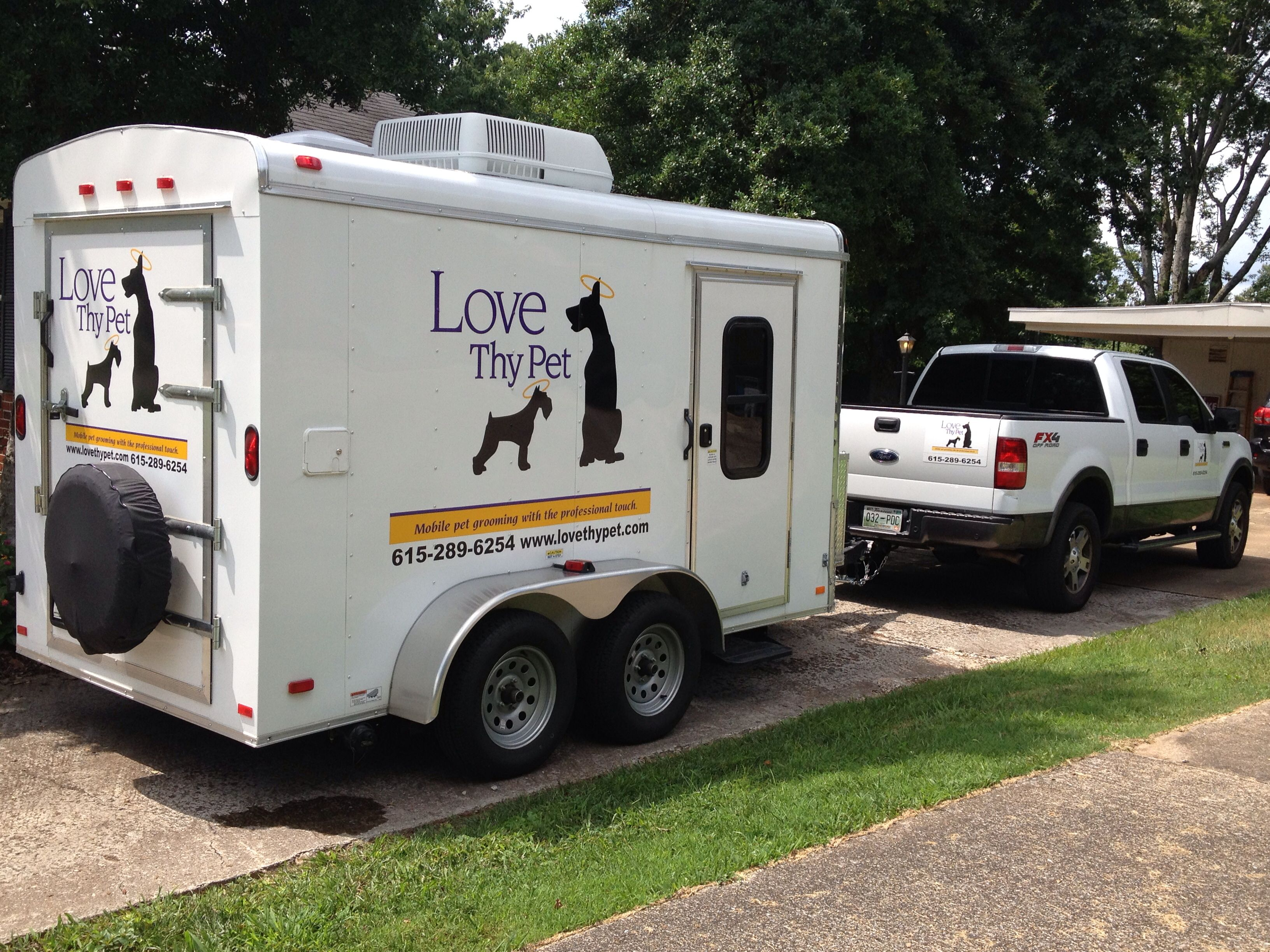 Love Thy Pet Mobile Grooming Pat Garrett Owner Operator Dog Grooming Business Mobile Pet Grooming Pets