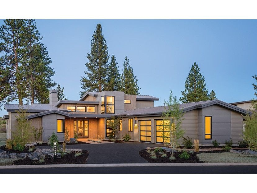 Eplans Contemporary Modern House Plan Perfect For A