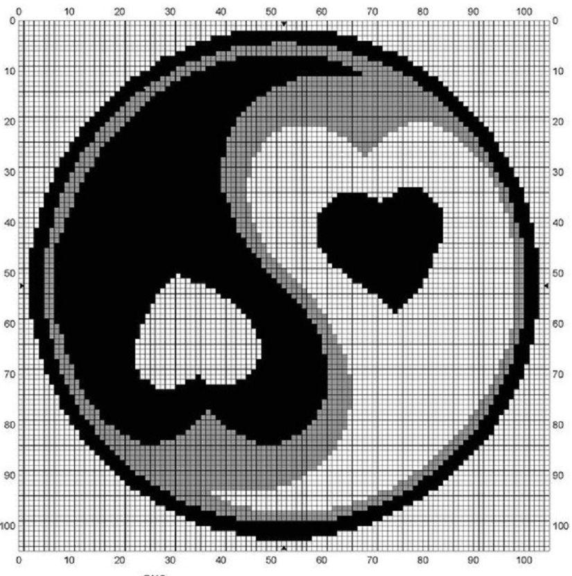 Knitting Cross Stitch Pattern : Free Web Application that ?translates digital images into knit, crochet, need...