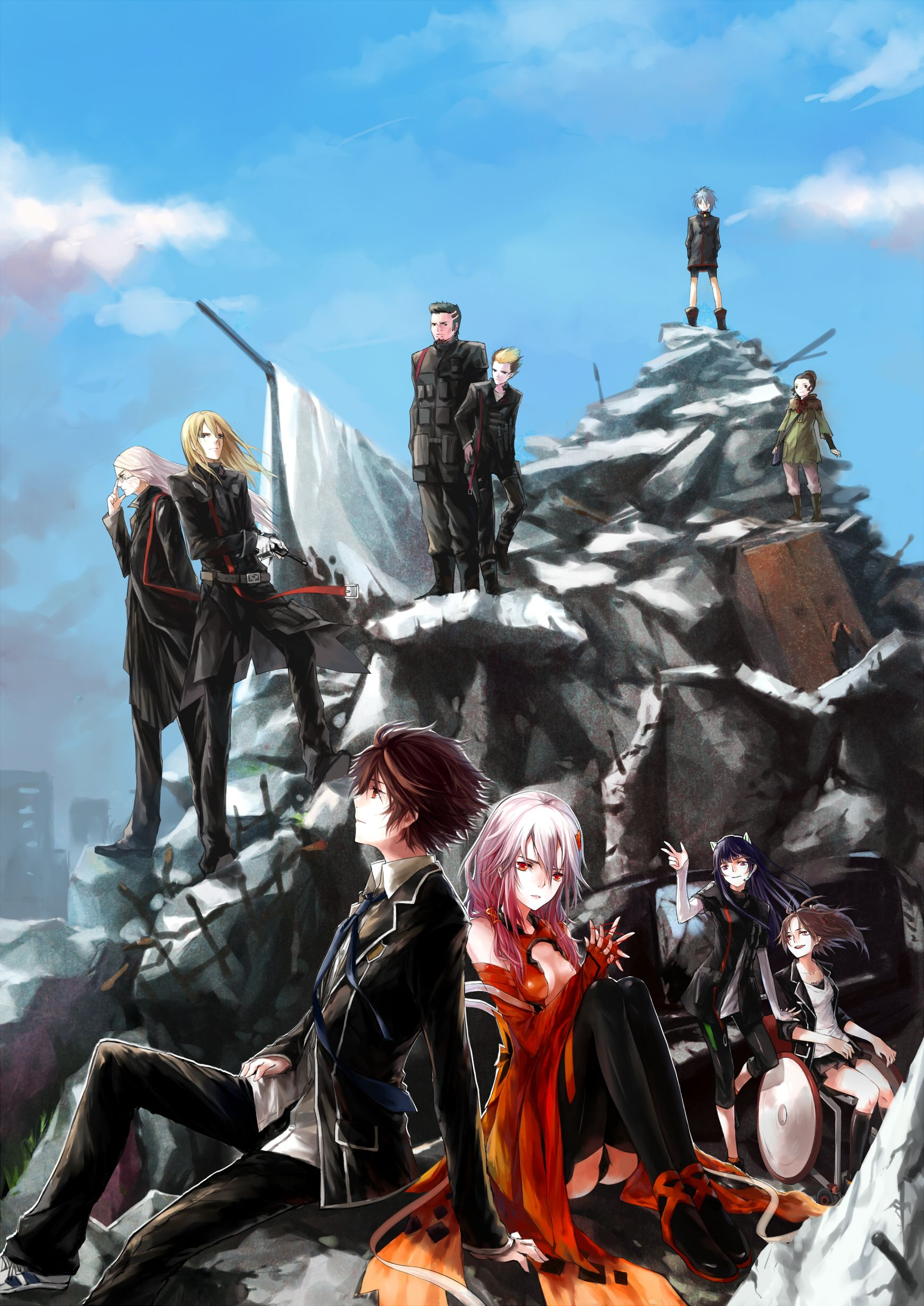 Guilty Crown Review Guilty crown wallpapers, Anime, Crown