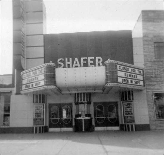 Wayne County Shafer Theatre In Garden City Michigan Shafer