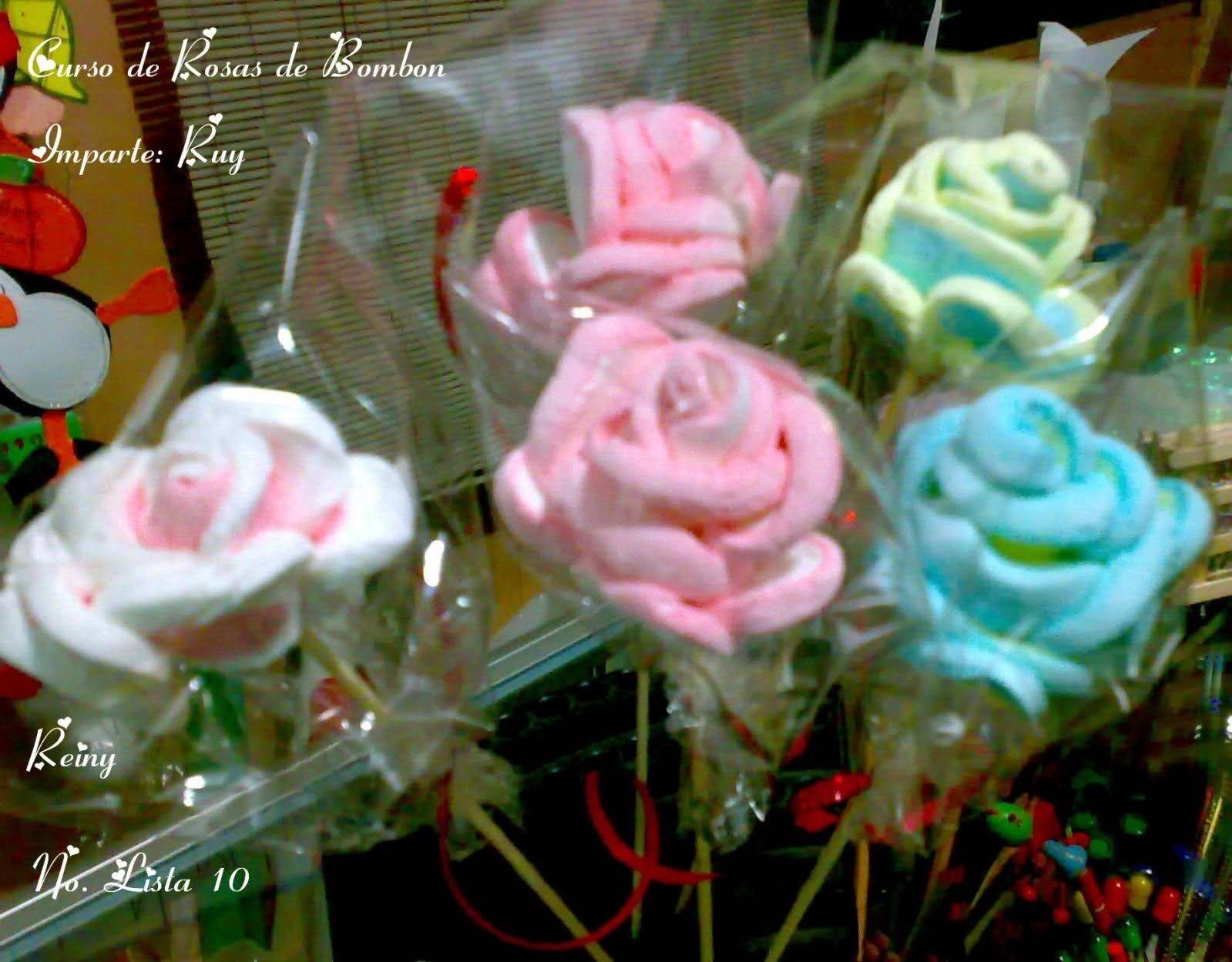 Como hacer rosas de bombon hawaii dermatology recetas - Flores para cocinar ...