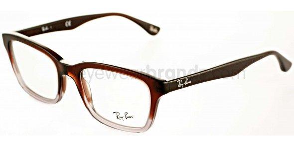 4344d1aca6ea Ray Ban RX5267 5055 Brown/Grey Gradient Ray Ban Prescription Glasses Online  from UK Opticians