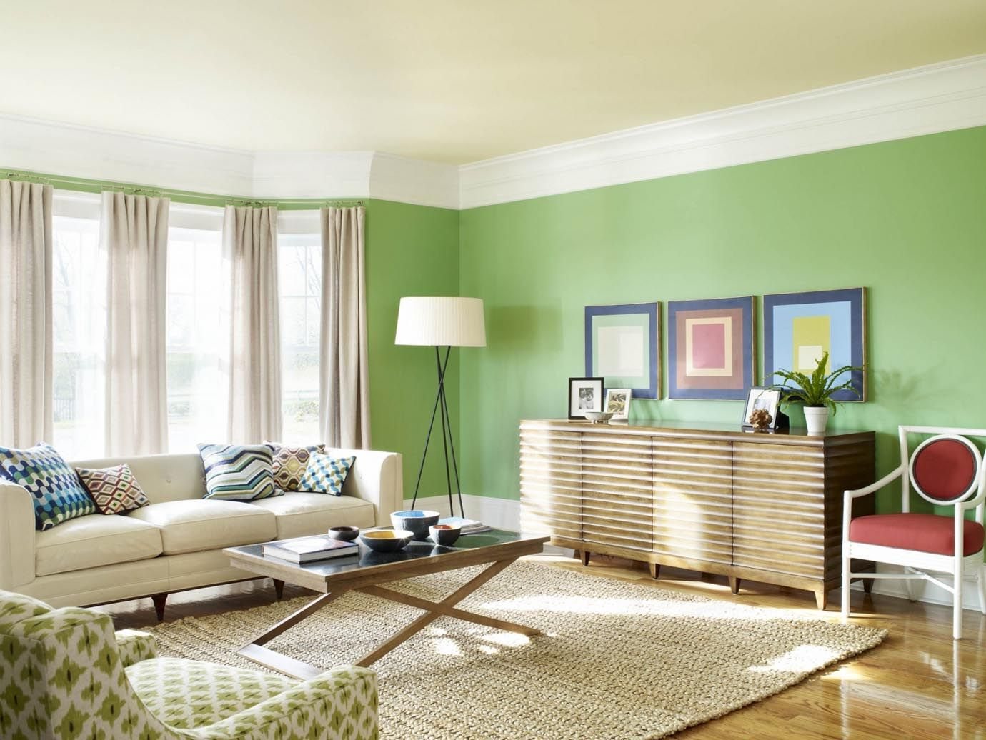 Best Green Paint Color For Living Room Room Paint Designs Paint