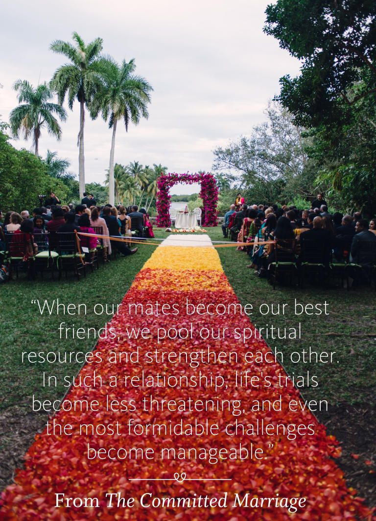 The Committed Marriage wedding ceremony reading