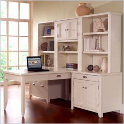 Kathy Ireland Tribeca Loft White Office Home Office Desks