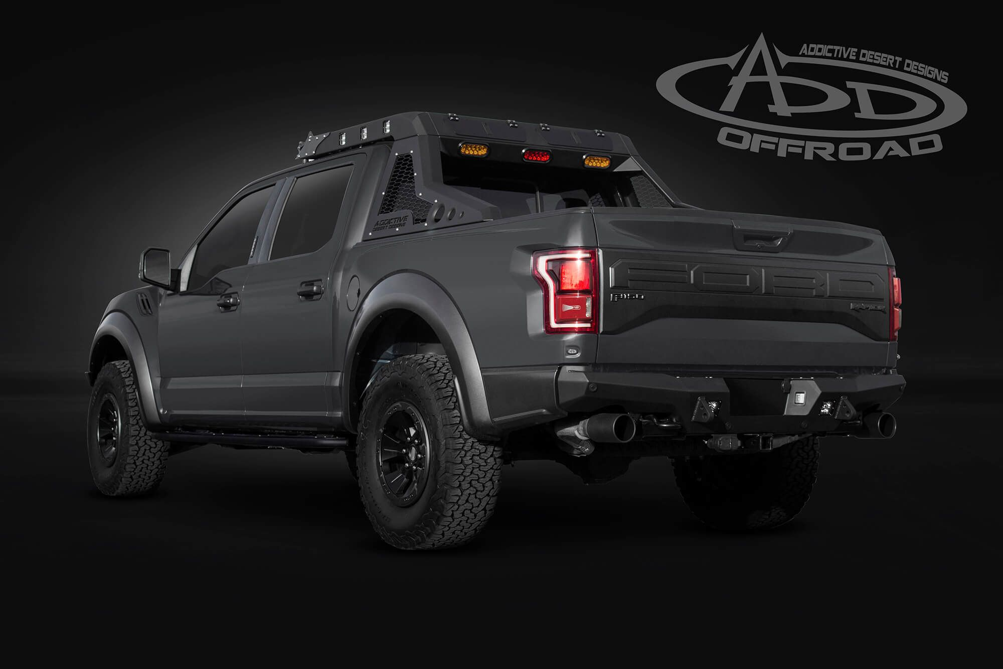 2018 ford 3 4 ton truck. unique 2018 2018 ford raptor lead foot grey rear view to ford 3 4 ton truck e