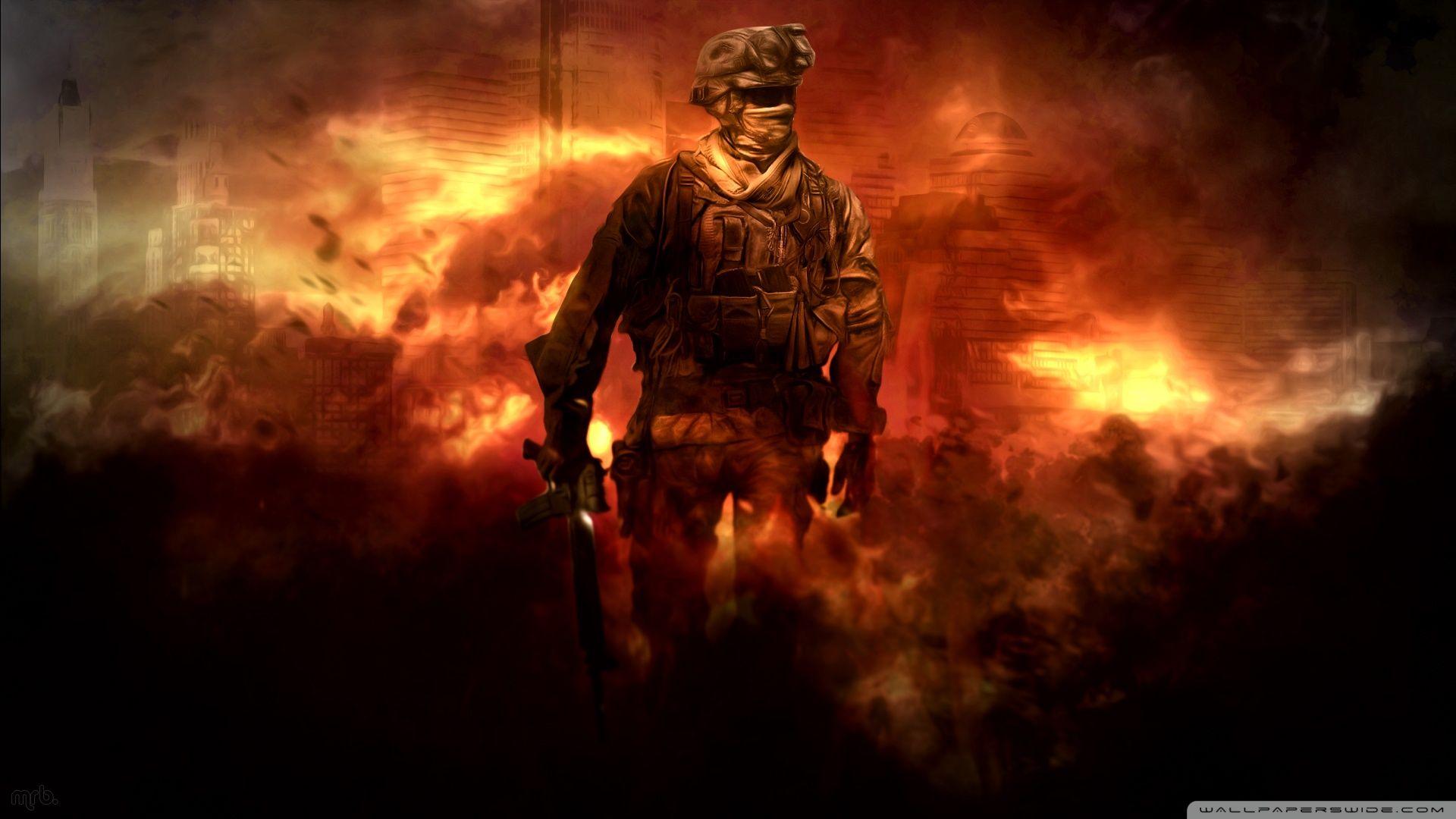 Call Of Duty Modern Warfare 2 HD Desktop Wallpaper Widescreen
