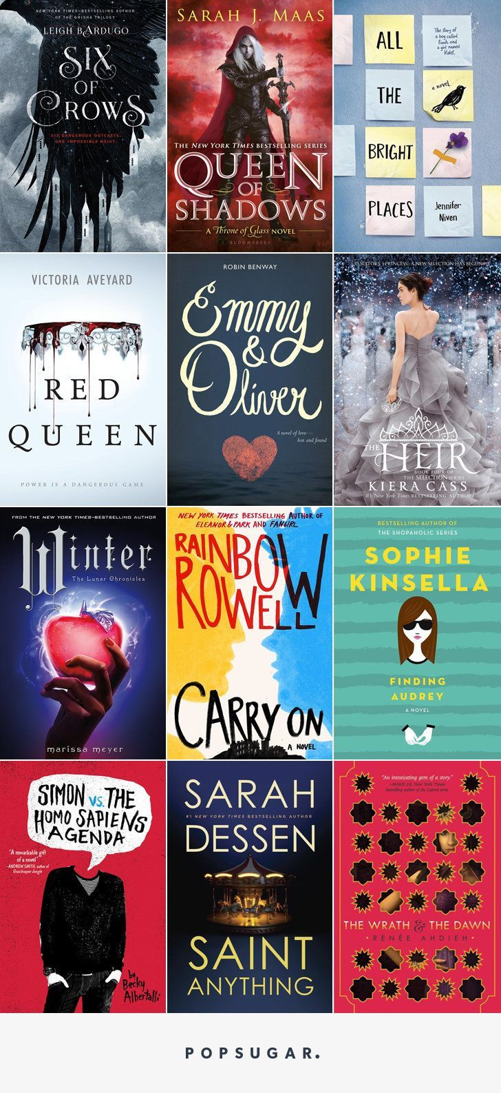 The Best YA Books Of 2015