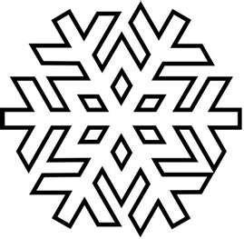 Snowflake Pattern  Kids    Snowflake Pattern Patterns