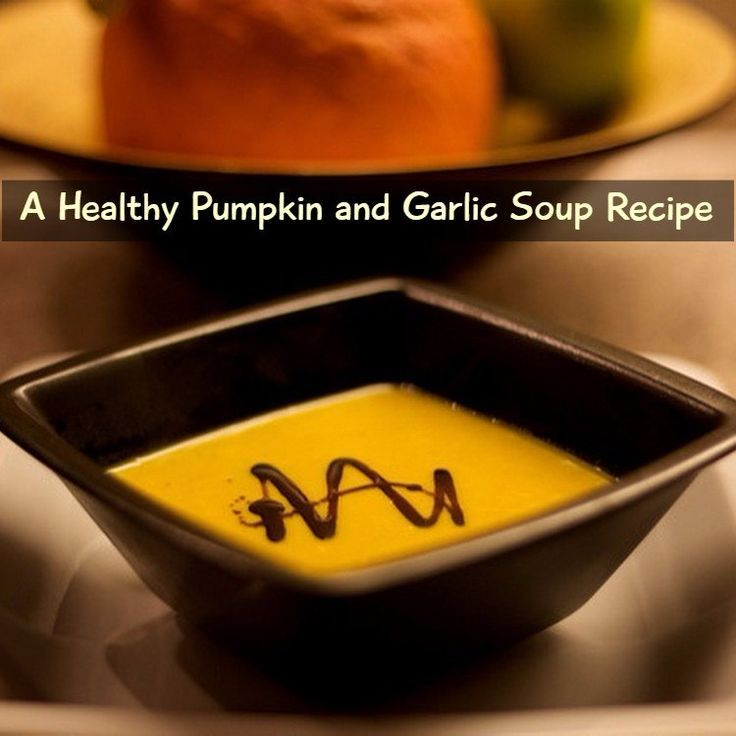 Here is a rich and tangy pumpkin and garlic soup recipe full of health nutrients to warm you up over winter and keep away colds and flu bugs.