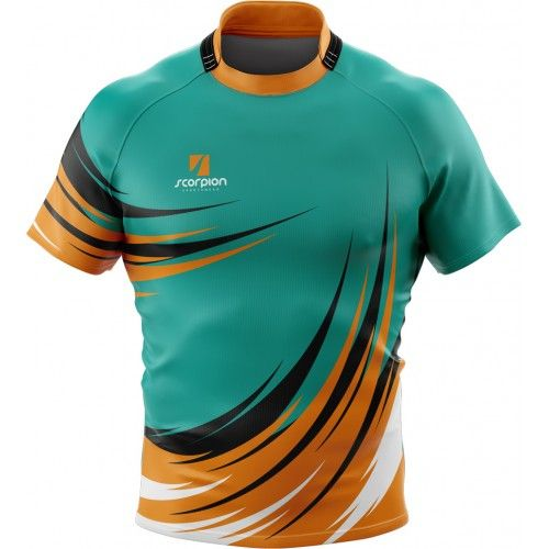 Basketball Clubs In Rugby: Scorpion Sports Rugby Shirts Are Suitable For Rugby Teams