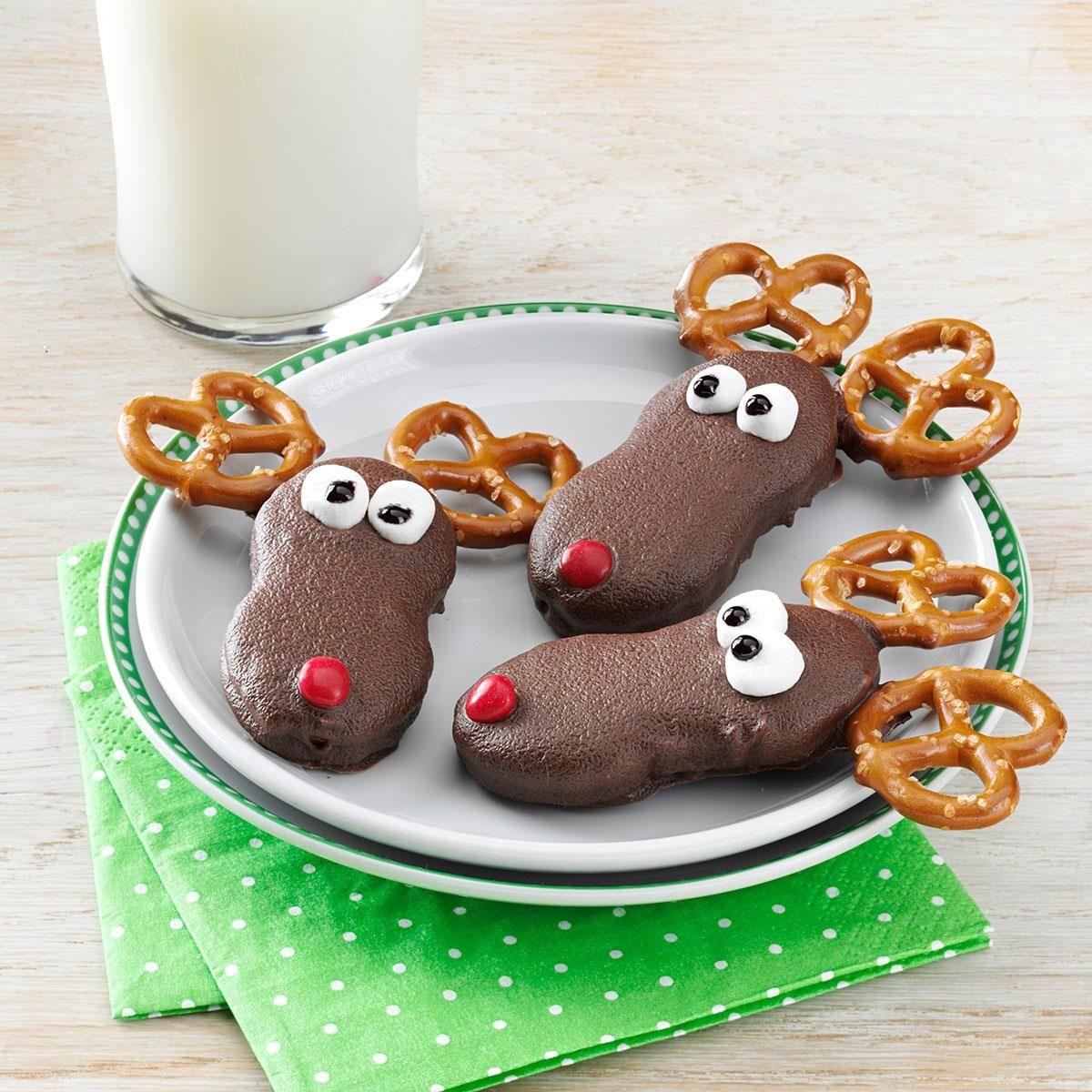 Holiday reindeer cookies recipe pinterest reindeer cookies holiday reindeer cookies recipe pinterest reindeer cookies test kitchen and christmas eve forumfinder Gallery