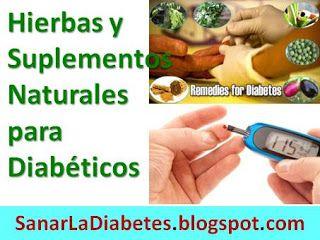 suplementos para la diabetes tipo 2