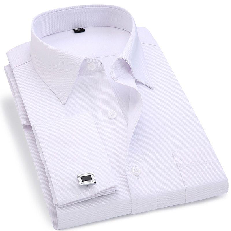 skjorte med manchetknapper