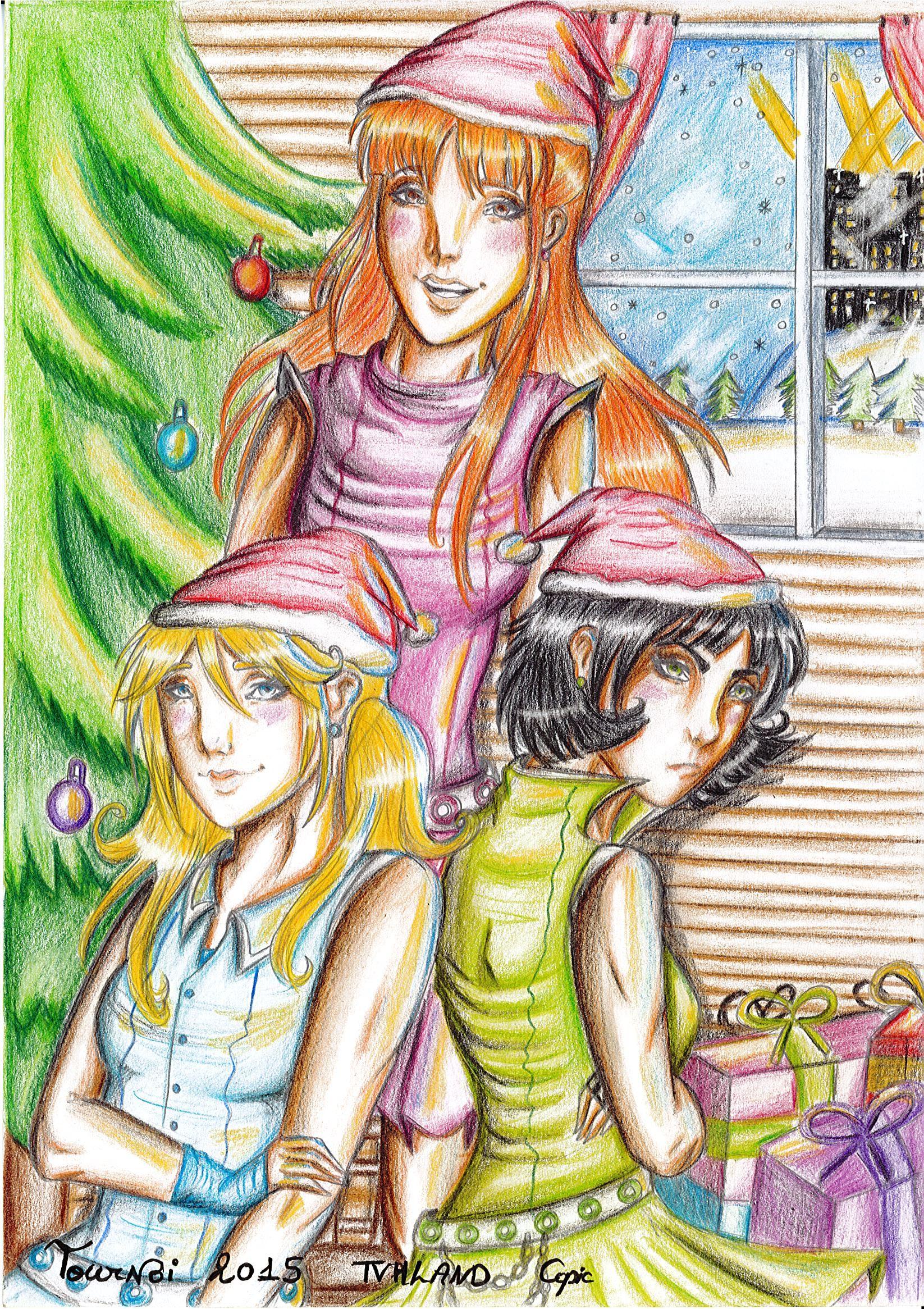 Powerpuffs Girls Christmas !!