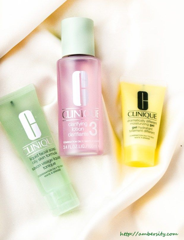 Clinique 3 Step Skin Care System For Skin Type 3 Skin Care System Clinique Skincare Skin Care