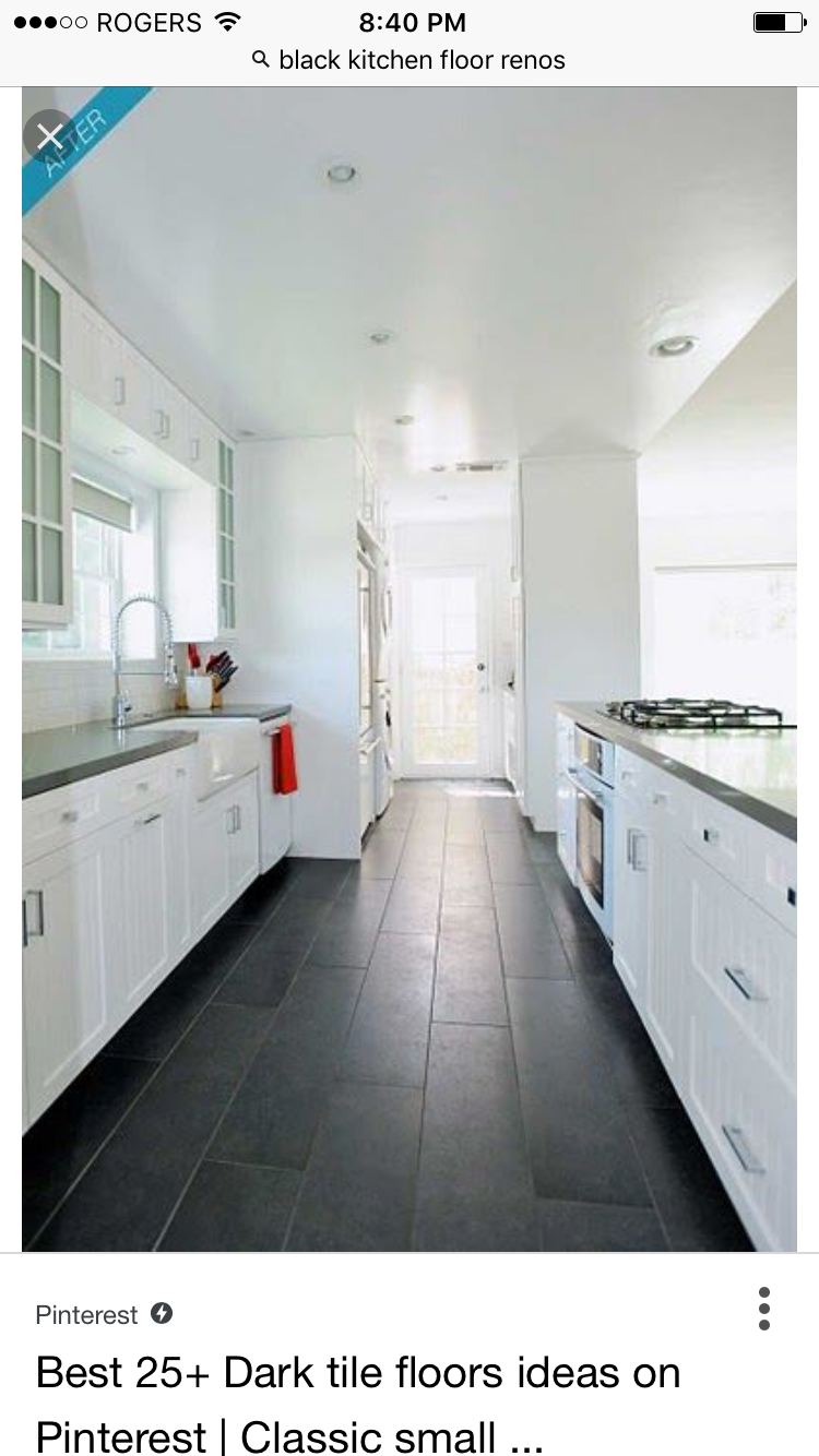 Pin By A Gram On Home Renovations Slate Floor Kitchen Kitchen Flooring Slate Kitchen
