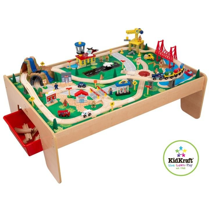 KidKraft Waterfall Mountain Train Set and Table | $169.95 | Free Shipping! | CLICK HERE  sc 1 st  Pinterest & KidKraft Waterfall Mountain Train Set and Table | $169.95 | Free ...
