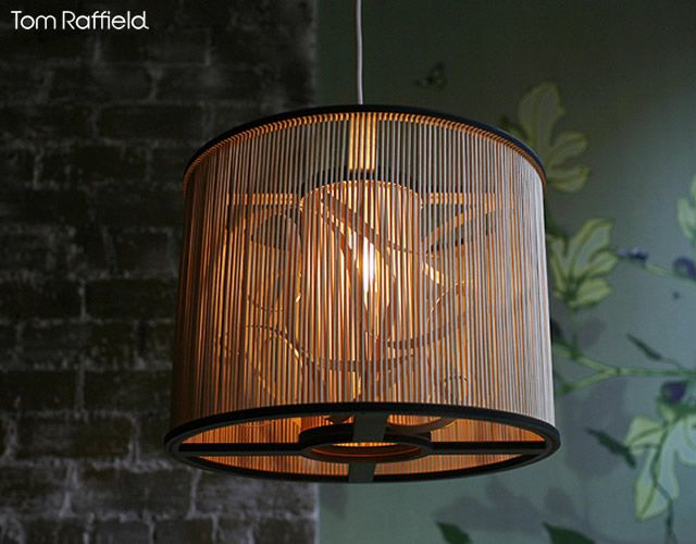 Cage Pendant Light By Tom Raffield Cage Pendant Light Caged Lamp Pendant Light