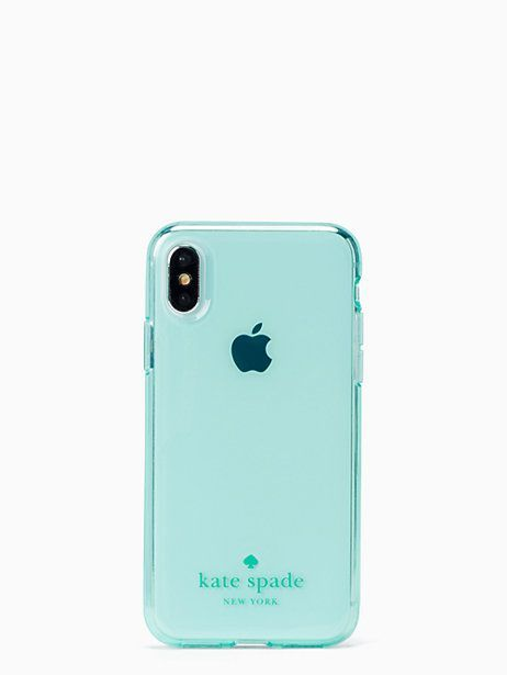 big sale 2049f 69d1c Kate Spade Tinted Clear Iphone 7/8 Case, Mint | Products in 2019 ...
