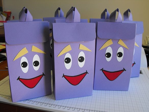 Back Pack Goo Bags Dora The Explorer Birthday Party Ideas Google Search