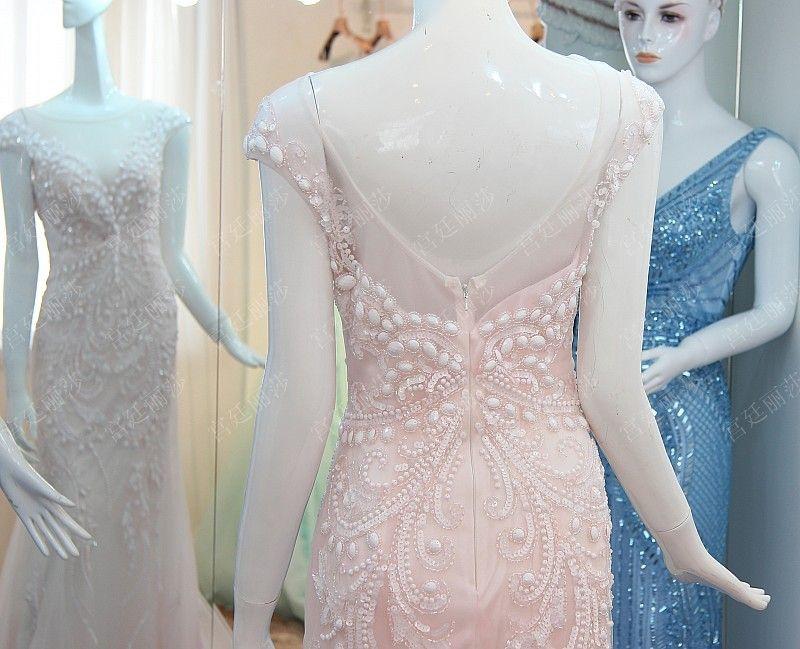 极致奢华水晶礼服韩版韩式礼服新娘结婚敬酒礼服晚礼服xj50097 Wedding Dresses Dresses Wedding Dresses Lace