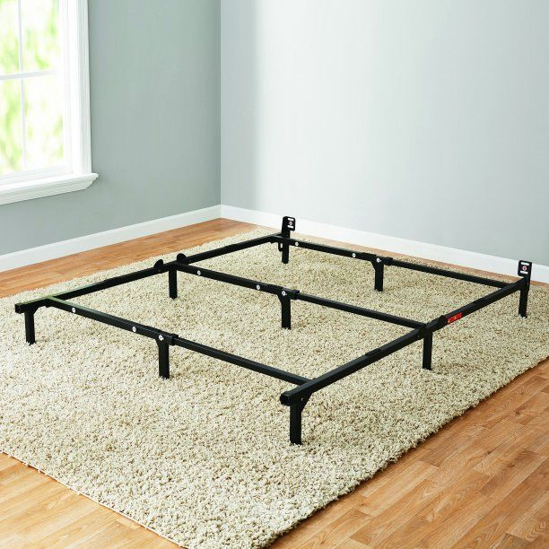 Adjustable Metal Bed Frame Adjusted To Twin Full Queen Easy No