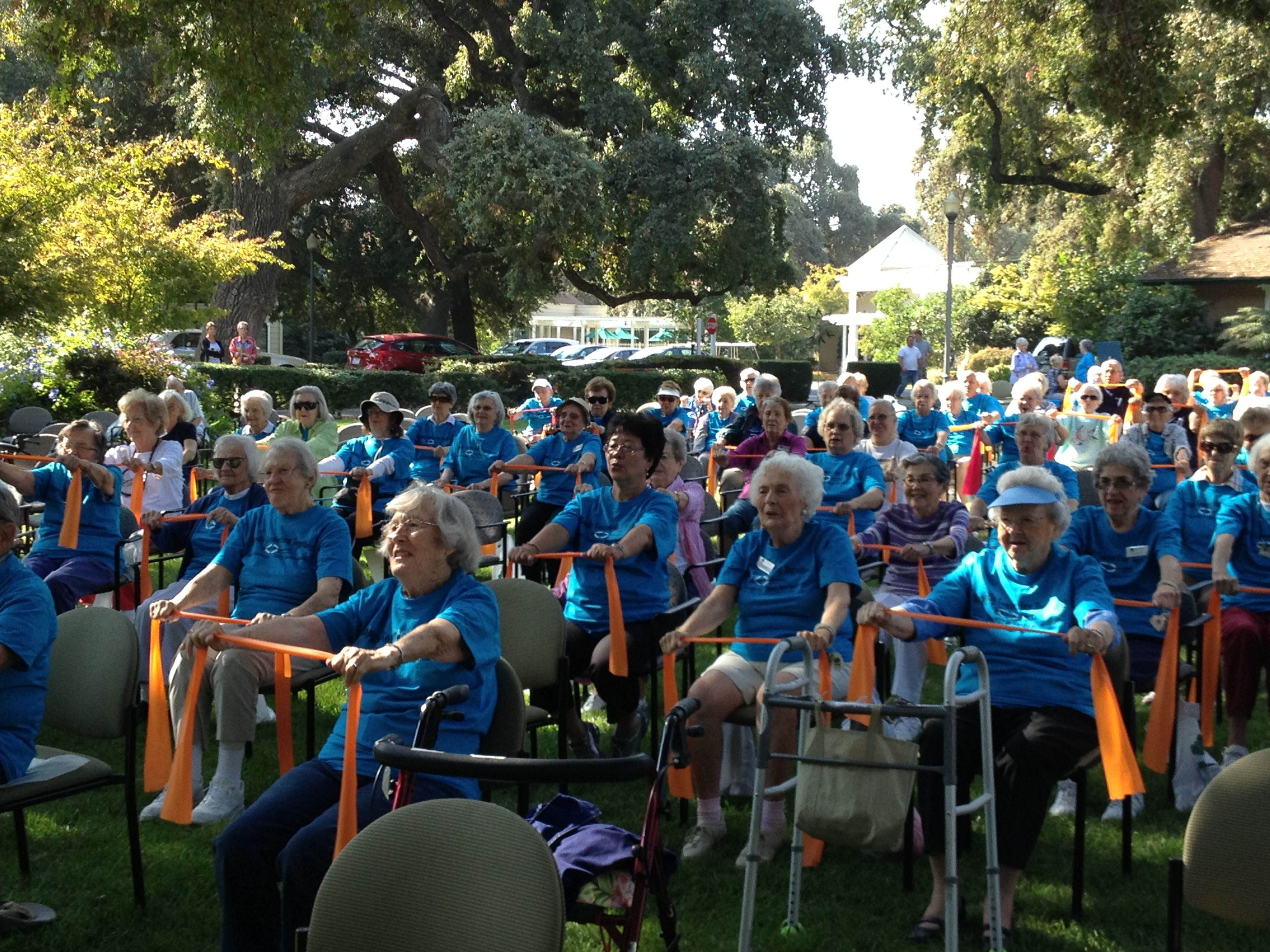Active aging week older adults healthy lifestyle