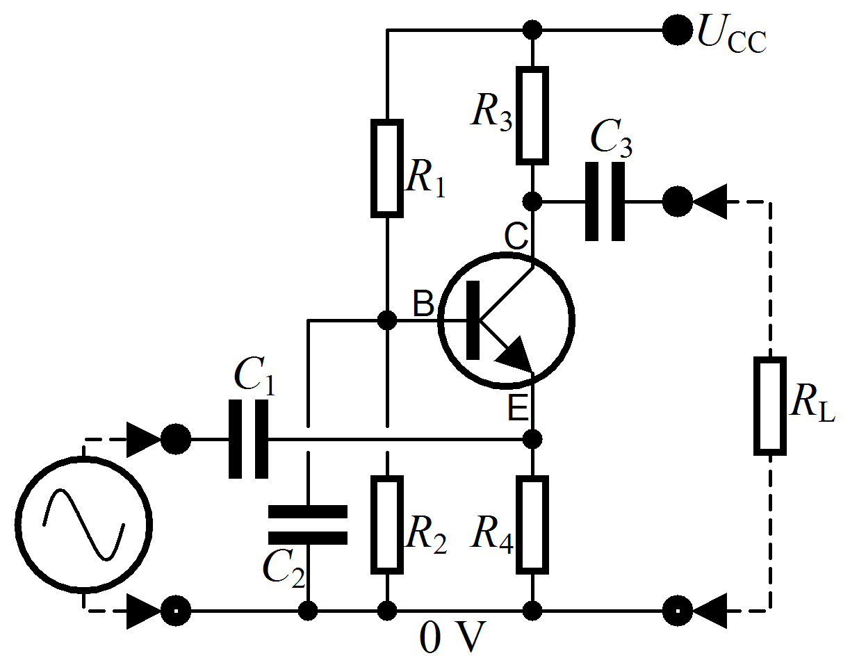 Commonbaseamplifier Npn And Pnp Transistors Are Used In Amplifier 23 X Ldr Circuits Projects Both Have Input Provided At The Emitter Of Transistor