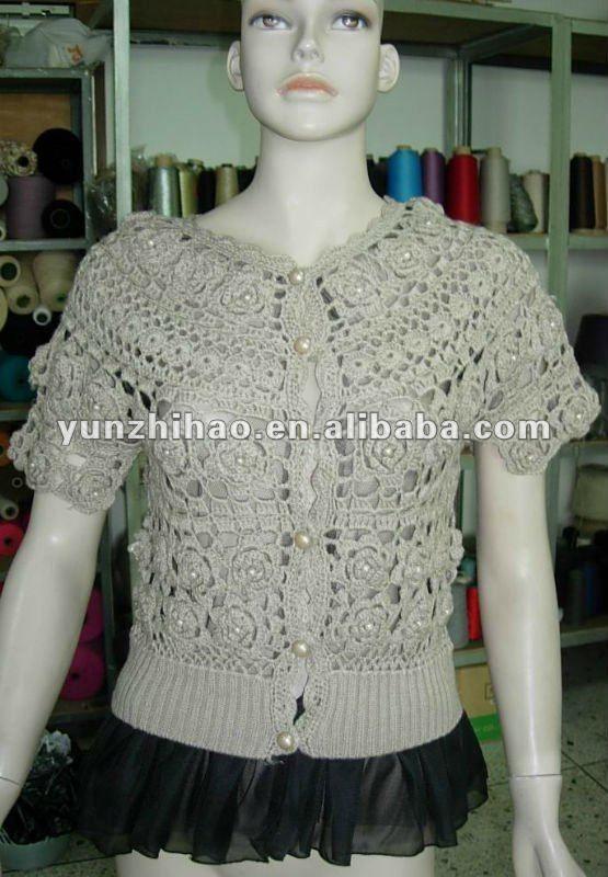 Macrame Blusas Con Moda Tejidos Crochet | gatos | Pinterest ...