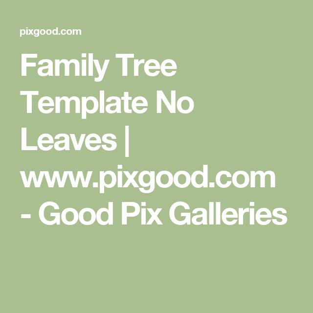 family tree template no leaves www pixgood com good pix