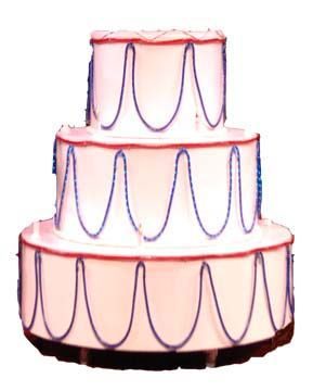 Pop Out Cakes World Largest Popout Biggest Bakery USA Cake Jump Stripper Giant Huge Big Large Birthday Party